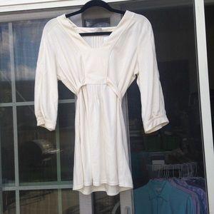 Emma James cream blouse size L